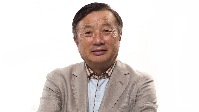 O ιδρυτής της Huawei, Ren Zhengfei.